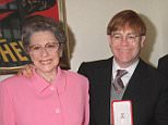 Mandatory Credit: Photo by RICHARD YOUNG/REX (285129h)  ELTON JOHN WITH MOTHER  Elton John Receiving His Knighthood Honour, London, Britain - 1998