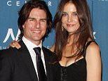 Mandatory Credit: Photo by Jim Smeal/BEI/REX (1315225c)  Tom Cruise and Katie Holmes  Tom Cruise honored by The Simon Wiesenthal Center , Los Angeles, America - 05 May 2011