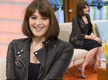 EDITORIAL USE ONLY. NO MERCHANDISING  Mandatory Credit: Photo by Ken McKay/ITV/REX (4556064an)  Gemma Arterton  'Good Morning Britain' TV Programme, London, Britain. 19 Mar 2015