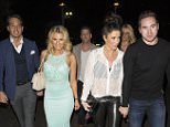 ** EXCLUSIVE IMAGES ** KATIE PRICE AND KIERAN HAYLER PARTY WITH TOWIES DANIELLE ARMSTRONG AND JAMES LOCKE AND THE UNLIKLEY APIR APPEAR TO BE GOOD FRIENDS AT ROC WEDNESDAY AT SHEESH IN CHIGWELL, KATIE WAS SEEN LEAVING THE VENUE IN GOOD SPIRITS AT 1.20AM A LITTLE WORSE FOR WEAR!!  -; - WEDNESDAY 18TH MARCH 2015 - RA-PIX.CO.UK - 07774 321240 - CONTACT ASHLEY MOORE - ASH@AJMIMAGES.CO.UK