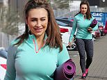 Picture Shows: Lauren Goodger  March 18, 2015    **Min   200 Web/Online Set Usage Fee**    Former 'The Only Way Is Essex' star Lauren Goodger arrives at a North London gym.    Lauren was dressed to workout, wearing a blue long sleeved top, grey leopard print leggings and pink and black Nike trainers.    In February Lauren described herself as looking like a 'beached whale' after seeing pictures of herself in a bikini on vacation in Egypt.     **Min   200 Web/Online Set Usage Fee**    Exclusive - All Round  WORLDWIDE RIGHTS    Pictures by : FameFlynet UK    2015  Tel : +44 (0)20 3551 5049  Email : info@fameflynet.uk.com