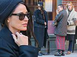 Picture Shows: Demi Moore, Tallulah Willis, Scout Willis  March 18, 2015\n \n Actress Demi Moore seen taking her daughters Tallulah and Scout out for an early dinner at Cafe Cluny in New York City, New York. \n \n The trio where all wearing mismatched outfits!\n \n Demi made a surprise appearance Monday night in Los Angeles to support her other daughter Rumer as she made her debut on 'Dancing With The Stars'.\n \n Exclusive All Rounder\n UK RIGHTS ONLY\n Pictures by : FameFlynet UK © 2015\n Tel : +44 (0)20 3551 5049\n Email : info@fameflynet.uk.com