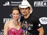 Mandatory Credit: Photo by Picture Perfect/REX (3932666p).. Kimberly Williams-Paisley and Brad Paisley.. 'Planes: Fire and Rescue' film premiere, Los Angeles, America - 15 Jul 2014.. ..