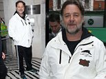 Mandatory Credit: Photo by Beretta/Sims/REX (4556168j)\n Russell Crowe at BBC Radio 2 Studios\n Russell Crowe out and about, London, Britain - 19 Mar 2015\n \n