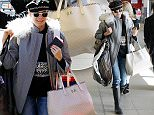 BERLIN, GERMANY - MARCH 18:  Diane Kruger is seen at Tegel Airport on March 18, 2015 in Berlin, Germany.  (Photo by Chad Buchanan/GC Images)
