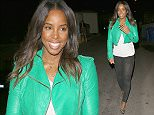 West Hollywood, CA - Vocal powerhouse Kelly Rowland arrived at the Troubadour on Wednesday evening to attend the first annual Lovato Scholarship Benefit, organized by Kelly's former 'The X-Factor' co-star Demi Lovato. The 34-year-old singer looked chic in a bright green leather jacket and made sure to stop and pose with a few fans on her way into the event.  AKM-GSI        March 18, 2015 To License These Photos, Please Contact : Steve Ginsburg (310) 505-8447 (323) 423-9397 steve@akmgsi.com sales@akmgsi.com or Maria Buda (917) 242-1505 mbuda@akmgsi.com ginsburgspalyinc@gmail.com