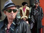 Rolling Stones' Keith Richards leaves Sant Ambroeus after lunch with his daughters in West Village on March 18, 2015 in New York City.\n\nPictured: Keith Richards\nRef: SPL979147  180315  \nPicture by: Christopher Peterson/Splash News\n\nSplash News and Pictures\nLos Angeles: 310-821-2666\nNew York: 212-619-2666\nLondon: 870-934-2666\nphotodesk@splashnews.com\n