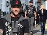 EXCLUSIVE Calum Best is seen with a blonde friend walking in the sunshine around chelsea, london\n18 March 2015.\nPlease byline: Vantagenews.co.uk