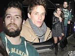 15 Mar 2015 - LONDON - UK\n*** EXCLUSIVE ALL ROUND PICTURES ***\n*** STRICTLY NOT AVAILABLE FOR MAIL ONLINE AND ANY ONLINE SUBSCRIPTION DEALS UNLESS FEE AGREED PRIOR TO USAGE***\nBAFTA AND OSCAR WINNER EDDIE REDMAYNE PICTURED LEAVING RAFFLES NIGHTCLUB IN CHELSEA AT 3AM AFTER A NIGHT OUT WITH HIS BROTHER. HENRY CAVILL THEN ARRIVED AT THE CLUB AT 4AM AND LEFT AT 5AM WITH A BRUISED EYE AND A FEMALE COMPANION. HE WAS ALMOST UNRECOGNISABLE WITH HIS HEAVY BEARD AND ROYAL MARINES HOODIE. HE ALSO ALLEGEDLY COULDN'T LEAVE THE MENS BATHROOM FOR OVER 20 MINUTES BECAUSE CLUB-GOERS WERE ALL ASKING FOR 'SELFIES'!\nBYLINE MUST READ : XPOSUREPHOTOS.COM\n***UK CLIENTS - PICTURES CONTAINING CHILDREN PLEASE PIXELATE FACE PRIOR TO PUBLICATION ***\n**UK CLIENTS MUST CALL PRIOR TO TV OR ONLINE USAGE PLEASE TELEPHONE 44 208 344 2007**