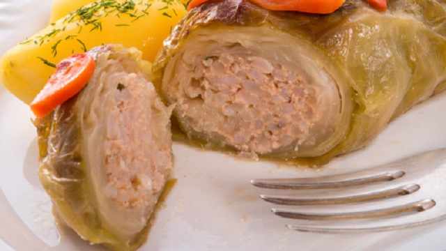 Corned Beef Cabbage Rolls