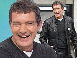 19 March 2015. Antonio Banderas outside the London Studios Credit: Andy Oliver/GoffPhotos.com   Ref: KGC-143