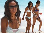 Picture Shows: Kerrueche Tran, Christina Milian  March 18, 2015:\n \n ** Min Web / Online Fee £400 For Set **\n \n Model Karrueche Tran escapes her Chris Brown drama and shows off her impressive bikini body in Cancun, Mexico. \n \n Accompanied by her beautiful bestie Christina Milian, Karrueche pranced around playfully and posed for pictures; with obviously no love lost between her and Chris Brown. She called it quits again after it was revealed that he got another woman pregnant. \n \n ** Min Web / Online Fee £400 For Set **\n \n Exclusive All Rounder\n UK RIGHTS ONLY\n Pictures by : FameFlynet UK © 2015\n Tel : +44 (0)20 3551 5049\n Email : info@fameflynet.uk.com