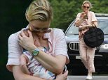 EXCLUSIVE TO INF. PREMIUM RATES APPLY.\nMarch 11, 2015: Actress Cate Blanchett spotted with baby Edith after the gym today following news she had adopted a baby girl.\nMandatory Credit: INFphoto.com Ref: infausy-12/44