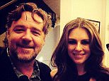 liz hurley and Russell crowe