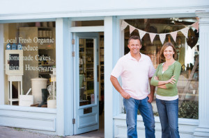 organic food store owners