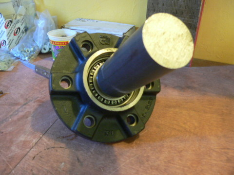 wheel hub and spindle