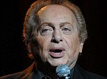 SUNRISE, FL - JANUARY 26:  Comedian Jackie Mason performs at the Sinatra Theater on January 26, 2008 in Sunrise Florida.  (Photo by Larry Marano/Getty Images)