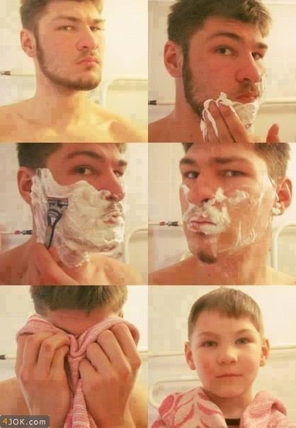 اصلاح صورت پسرها