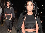 21 Mar 2015  - LONDON  - UK *** EXCLUSIVE ALL ROUND PICTURES *** TULISA PICTURED ARRIVING FOR DINNER AT STEAM AND RYE AT MIDNIGHT. AT ABOUT 1AM, HER AND HER FRIENDS THEN WENT ONTO BODO'S SCHLOSS NIGHTCLUB IN KENSINGTON BYLINE MUST READ : XPOSUREPHOTOS.COM ***UK CLIENTS - PICTURES CONTAINING CHILDREN PLEASE PIXELATE FACE PRIOR TO PUBLICATION *** **UK CLIENTS MUST CALL PRIOR TO TV OR ONLINE USAGE PLEASE TELEPHONE  442083442007
