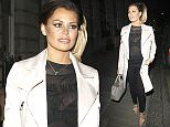 Picture Shows: Jessica Wright  March 21, 2015    'TOWIE' star Jessica Wright enjoys a night out at Essex's Luxe Bar in Loughton, UK. The reality star kept it stylish in a beige trench coat, sheer black top, black skinny jeans, and gold high heeled sandals.    Non Exclusive  WORLDWIDE RIGHTS    Pictures by : FameFlynet UK    2015  Tel : +44 (0)20 3551 5049  Email : info@fameflynet.uk.com