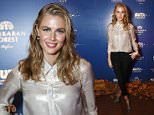LONDON, ENGLAND - MARCH 20:  Actress Donna Air attends the Closing Party of The Buta Festival at Royal Academy of Arts on March 20, 2015 in London, England.  (Photo by Max Cisotti/Getty Images for Showcase)