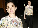 Actress Rose McGowan leaving The Nice Guy lounge in West Hollywood, CA\n\nPictured: Rose McGowan\nRef: SPL981057  200315  \nPicture by: Roshan Perera\n\nSplash News and Pictures\nLos Angeles: 310-821-2666\nNew York: 212-619-2666\nLondon: 870-934-2666\nphotodesk@splashnews.com\n