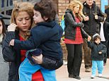 **ALL ROUND PICTURES FROM SOLARPIX.COM** **WORLDWIDE SYNDICATION RIGHTS EXCEPT SPAIN - NO SYNDICATION IN SPAIN** Caption: Columbian Pop singer Shakira seen picking up her son Milan from school today in Barcelona. This pic: Shakira & Milan JOB REF:18074  BJG   DATE:20.03.2015 **MUST CREDIT SOLARPIX.COM OR DOUBLE FEE WILL BE CHARGED** **MUST AGREE FEE BEFORE ONLINE USAGE** **CALL US ON: +34 952 811 768 or LOW RATE FROM UK 0844 617 7637**