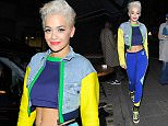 LONDON, ENGLAND - MARCH 20:  Rita Ora enjoys is seen at Little House restaurant and bar in Mayfair on March 20, 2015 in London, England.  (Photo by Keith Hewitt/GC Images)