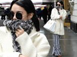 Mandatory Credit: Photo by Kristin Callahan - ACE Pictures/REX (4573605o)\n Vanessa Hudgens\n Vanessa Hudgens out and about, New York, America - 21 Mar 2015\n Vanessa Hudgens arrives to perform in Gigi on Broadway\n