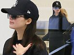 20 March 2015. Kendall Jenner seen at LAX Credit: BG/GoffPhotos.com   Ref: KGC-300/150320NR1 **UK, Spain, Italy, China Sales Only**