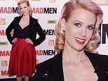 """NEW YORK, NY - MARCH 21:  January Jones attends the """"Mad Men"""" special screening at The Film Society of Lincoln Center on March 21, 2015 in New York City.  (Photo by Stephen Lovekin/Getty Images)"""
