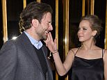 """NEW YORK, NY - MARCH 21:  Bradley Cooper and Jennifer Lawrence  attend the after party of a screening of """"Serena"""" hosted by Magnolia Pictures And The Cinema Society With Dior Beauty on March 21, 2015 in New York City.  (Photo by Jamie McCarthy/Getty Images)"""
