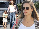 Brentwood, CA - Brunette beauty Alessandra Ambrosio and her daughter Anja leave the Brentwood Country Mart after having lunch together this afternoon.\nAKM-GSI        March  21, 2015\nTo License These Photos, Please Contact :\n \n Steve Ginsburg\n (310) 505-8447\n (323) 423-9397\n steve@akmgsi.com\n sales@akmgsi.com\n \n or\n \n Maria Buda\n (917) 242-1505\n mbuda@akmgsi.com\n ginsburgspalyinc@gmail.com