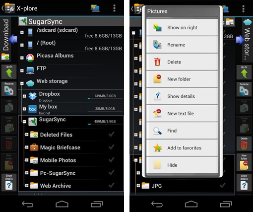 Download xplore file manager