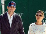 Mandatory Credit: Photo by Curtis Means/REX (3031288b).. Ashton Kutcher and Mila Kunis.. Ashton Kutcher and Mila Kunis out and about in New York, America - 19 Sep 2013.. ..