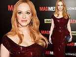 """NEW YORK, NY - MARCH 22:  Christina Hendricks attends the """"Mad Men"""" New York Special Screening at The Museum of Modern Art on March 22, 2015 in New York City.  (Photo by Dave Kotinsky/Getty Images)"""