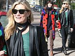 EXCLUSIVE: Kate Moss enjoying sunday sunshine with a friend London  Pictured: Kate Moss Ref: SPL981049  220315   EXCLUSIVE Picture by: JJ / Splash News  Splash News and Pictures Los Angeles: 310-821-2666 New York: 212-619-2666 London: 870-934-2666 photodesk@splashnews.com