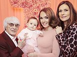 Embargoed to 0001 Monday March  23   THIS PICTURE MUST ONLY BE USED IN CONJUNCTION WITH THE FRONT COVER OF THIS WEEKS HELLO! MAGAZINE. NO SALES NO ARCHIVE. EDITORIAL USE ONLY. Handout photo issued by Hello! Magazine of Tamara Ecclestone who appears in this week's edition of Hello! Magazine, with her father Bernie Ecclestone (left), daughter Sophia and mother Slavica Ecclestone (right). PRESS ASSOCIATION Photo. Issue date: Monday March 23, 2015. See PA story SHOWBIZ Ecclestone. Photo credit should read: Hello! Magazine/PA Wire NOTE TO EDITORS: This handout photo may only be used in for editorial reporting purposes for the contemporaneous illustration of events, things or the people in the image or facts mentioned in the caption. Reuse of the picture may require further permission from the copyright holder.