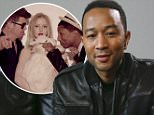 John Legend poses for a photograph during the SXSW Music Festival on Saturday, March 21, 2015 in Austin, Texas. (Photo by Jack Plunkett/Invision/AP)