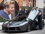 Gordon Ramsay has been showing off his new dish and it is seriously hot - a brand-new #1 million Ferrari. See swns story SWRAMSEY. The fiery chef, 48, picked up his brand new 218mph Ferrari LaFerrari hypercar over the weekend. Ramsay, a Ferrari aficionado who has owned a number of the Italian firm  s car, pulled up in the grey machine outside Claridges.He was quickly recognised by the Carparazzi, a group of petrolheads who visit London to photograph the world  s rarest vehicles. It  is not known the full level of personalisation on the car, but Ramsay has had the phrase   DONE!   emblazoned on the steering wheel. The  chef collected the LaFerrari from the HR Owen dealership in South  Kensington, and promptly shared the car with his fans on Instagram. After uploading a photo, the chef said:   Holy Mackerel it  s fast. My first  trip was out on the M4 to watch Megs Netball fyi it didn't take me long  to get there.