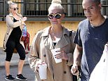 ***MANDATORY BYLINE TO READ INFPhoto.com ONLY***\nAshlee Simpson and Evan Ross leave the gym after a workout today in Los Angeles, California.\n\nPictured: Ashlee Simpson\nRef: SPL982809  230315  \nPicture by: Lek/INFphoto.com\n\n