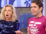 Editorial Use Only.. Mandatory Credit: Photo by REX (4383672cy).. Katie Hopkins and Perez Hilton.. 'Celebrity Big Brother' TV show, Elstree Studios, Hertfordshire, Britain - 27 Jan 2015.. ..