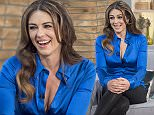 EDITORIAL USE ONLY. NO MERCHANDISING  Mandatory Credit: Photo by Ken McKay/ITV/REX (4587110cp)  Elizabeth Hurley  'This Morning' TV Programme, London, Britain. - 24 Mar 2015  ELIZABETH HURLEY  - Hollywood royalty Elizabeth Hurley talks about her new role