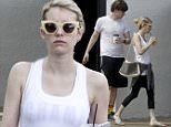134621, EXCLUSIVE: Emma Roberts and fiance Evan Peters step out without their engagement rings as they grab coffee in New Orleans. Emma, who looked laid back on her day off from filming 'Scream Queens,' has been pictured numerous times without her engagement ring, fueling rumors her pending marriage to her 'American Horror Story' co-star Evan may have been put off for the moment. New Orleans, Louisiana - Monday March 23, 2015. Photograph: © PacificCoastNews. Los Angeles Office: +1 310.822.0419 sales@pacificcoastnews.com FEE MUST BE AGREED PRIOR TO USAGE