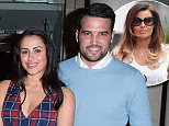 MUST BYLINE: EROTEME.CO.UK\nTOWIE'S Ricky Rayment and Geordie Shores Marnie Simpson are all loved up as they mingle with the band Blizzard at their Private Showcase in Soho.  Blizzard had their hit song played on Radio One last week when Nick Grimshaw gave it its first play.\nNON-EXCLUSIVE    March 20,  2015\nJob: 150320L6    London, England\nEROTEME.CO.UK\n44 207 431 1598\n