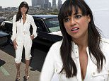 Mandatory Credit: Photo by Action Press/REX (4586983y)  Michelle Rodriguez  'Furious 7' film photocall, Los Angeles, America - 23 Mar 2015