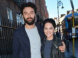 Poldark star Aidan Turner & fiancee Sarah Greene attend a panel discussion on acting at The Teacher's Club on Parnell Street as part of the Jameson Dublin International Film Festival alongside fellow Irish actor Robert Sheehan, Dublin, Ireland - 24.03.15. Featuring: Aidan Turner & fiancee Sarah Greene Where: Dublin, Ireland When: 24 Mar 2015 Credit: WENN.com