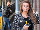 Pic Paul Cousans/Zenpix ...\nColeen Rooney pops into a hair salon in Cheshire today