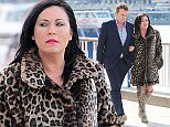 23 Mar 2015  - LONDON  - UK *** EXCLUSIVE ALL ROUND PICTURES *** EASTENDERS ACTORS SHANE RICHIE & JESSIE WALLACE FILMING AS ALFIE & KAT ON SOUTHBANK OF RIVER THAMES! BYLINE MUST READ : XPOSUREPHOTOS.COM ***UK CLIENTS - PICTURES CONTAINING CHILDREN PLEASE PIXELATE FACE PRIOR TO PUBLICATION *** **UK CLIENTS MUST CALL PRIOR TO TV OR ONLINE USAGE PLEASE TELEPHONE  442083442007