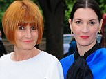 Television presenter and author Mary Portas (left) and her fashion journalist partner Melanie Rickey.  Mary Portas has revealed that her brother is the biological father of her two-year-old son Horatio.  PRESS ASSOCIATION Photo. Issue date: Saturday February 14, 2015. Portas, who last month surprised her partner Melanie Rickey as they became one of the first couples in the UK to convert their civil partnership to a same-sex marriage, told how her brother Lawrence Newton helped her and the fashion journalist conceive the boy, named Horatio. See PA story SHOWBIZ Portas. Photo credit should read: Ian West/PA Wire.  File photo dated 29/05/14.